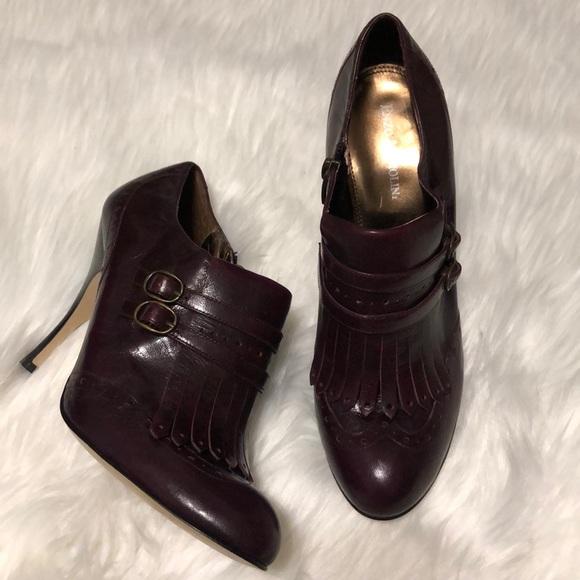 Enzo Angiolini Shoes - Enzo Angiolini kiltie tassel bootie, burgandy